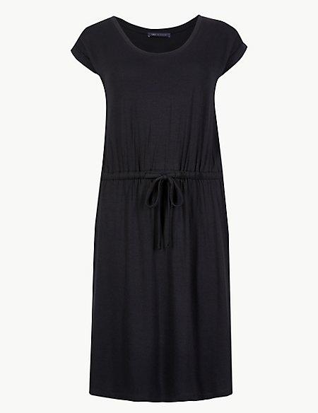 Short Sleeve Beach Dress