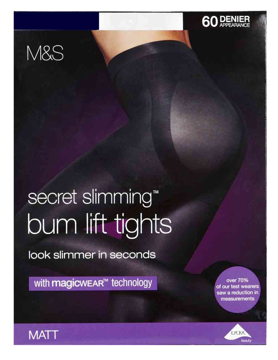 853f171ad9 60 Denier Secret Slimming™ Body Sensor™ Opaque Tights with Magicwear™  Technology