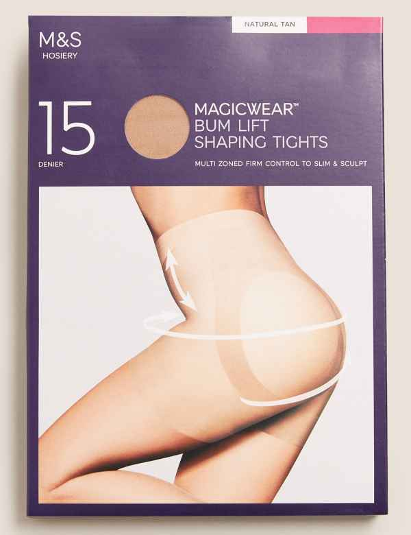 54f06d9896e79 15 Denier Magicwear™ Matt Body Shaper Tights