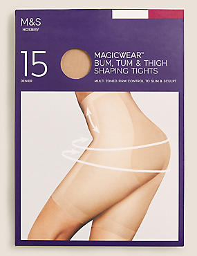 15 Denier Magicwear™ Shine Body Shaper Tights