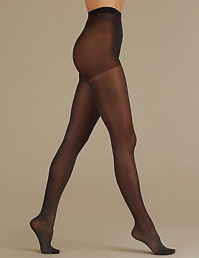 5 Pair Pack 20 Denier Tights