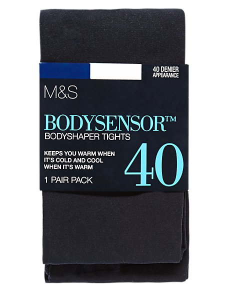 40 Denier Body Sensor™ Secret Slimming™ Opaque Bodyshaper Tights