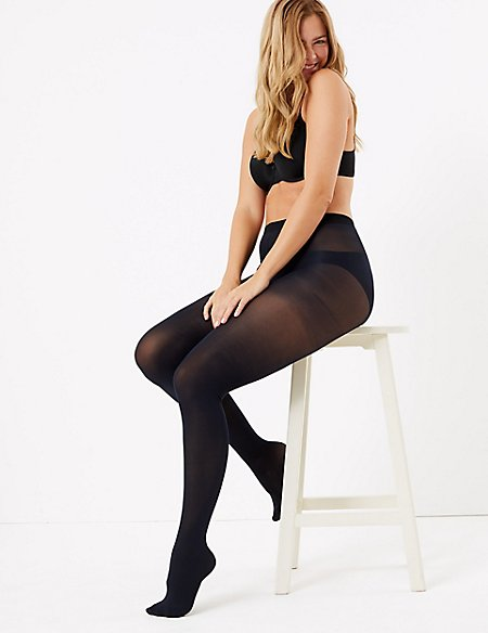 6 Pair Pack Body Sensor™ Opaque Tights