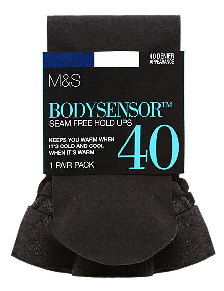 40 Denier Body Sensor™ Opaque Hold-Ups