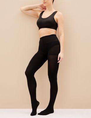 M/&s 6 paires taille L SECRET Fitness Collants Noir Mat 10 deniers
