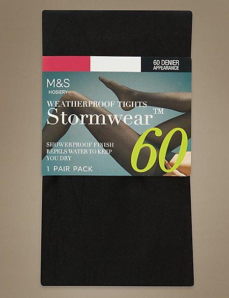 60 Denier Body Sensor™ Opaque Tights with Stormwear™