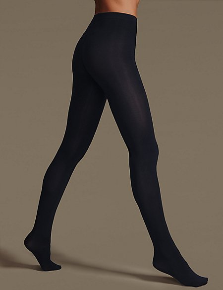 4 Pair Pack Body Sensor Opaque Tights