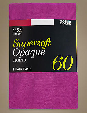 60 Denier Supersoft Tights