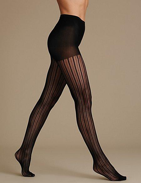 Secret Slimming™ Stripe Body Shaper Tights