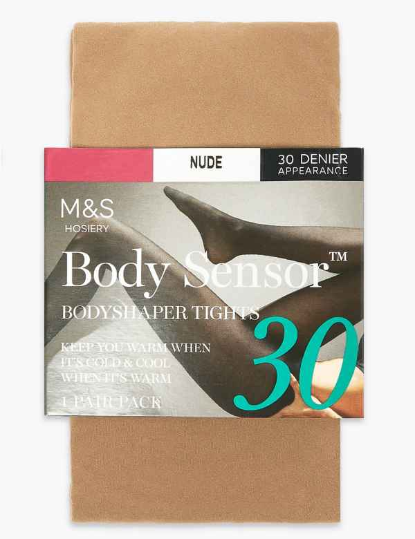 14c4fdc93cd 30 Denier Body Sensor™ Opaque Tights