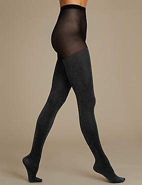 Glitter Opaque Tights