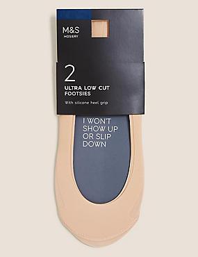 Pack de 2 salvapiés de microfibra