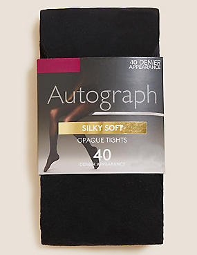40 Denier Silky Soft Tights
