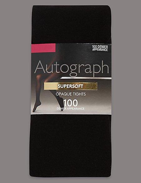 100 Denier Modal Opaque Tights