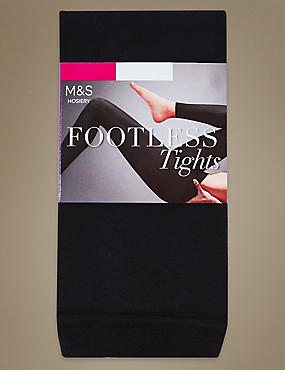 60 Denier Footless Tights