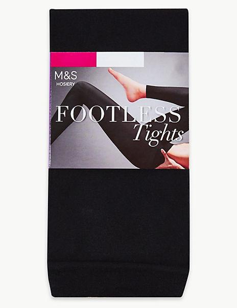 60 Denier Footless Tights