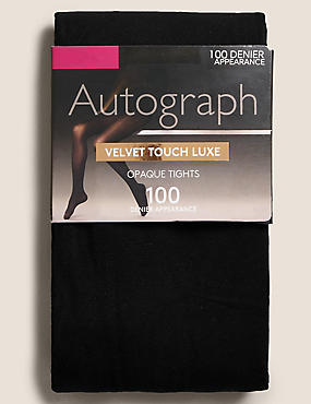 100 Denier Velvet Touch Opaque Tights