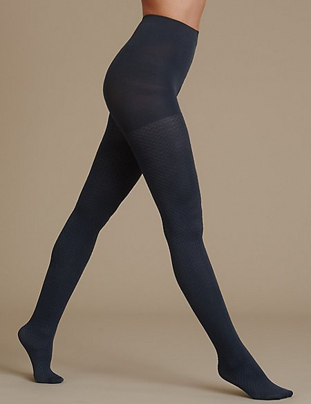 Opaque Texture Tights