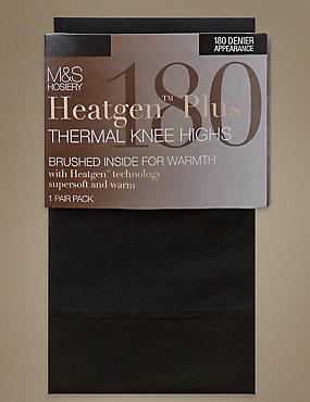 180 Denier Heatgen Plus™ Thermal Knee Highs