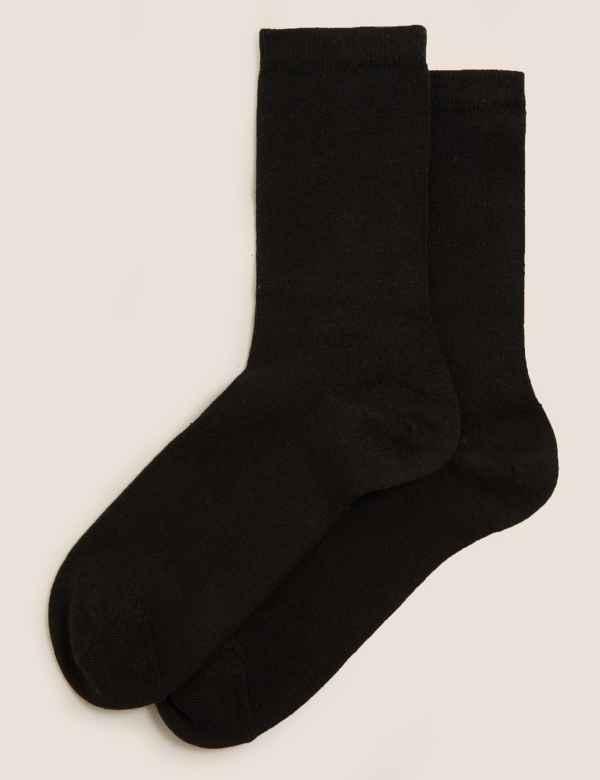cf48e94ff9801 Ladies Thermal Socks   Womens Cable Knit & Wool Socks   M&S