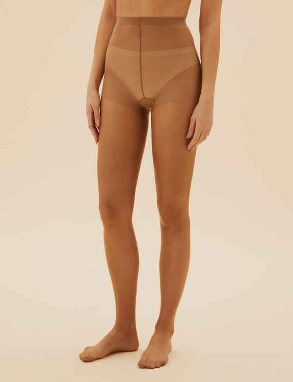 1f565735103d9 5 Denier Cool Comfort™ Bare Cooling Oiled Look Tights