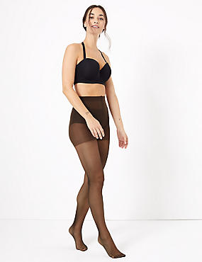 7 Denier Cool Comfort™ Slimming Illusion Sheer Tights