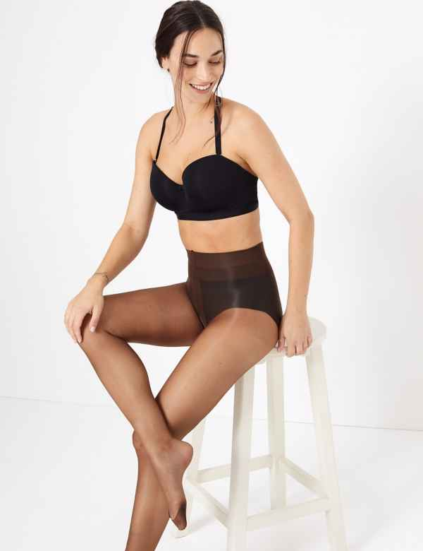 c2c0c69b1eb 7 Denier Ladder Resist Sheer Tights