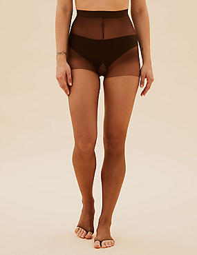 5 Denier Open Toe Bare Invisible Sheer Tights