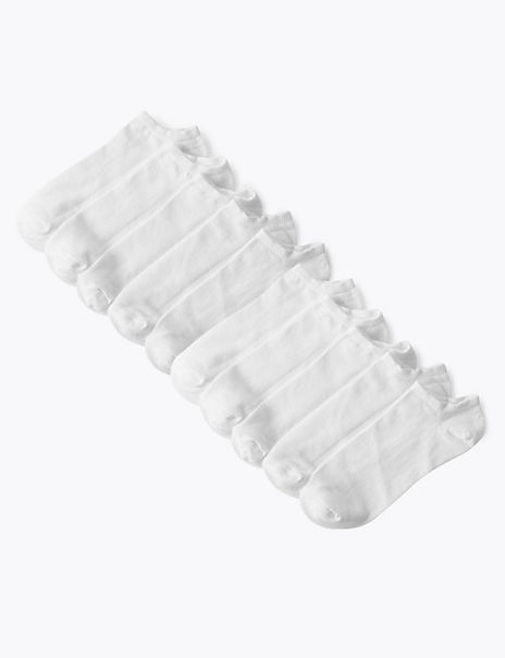 10 Pack Cotton Rich Trainer Liners