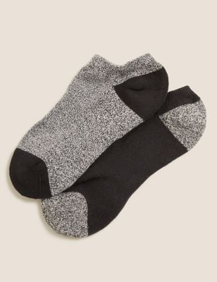 Heatgen™ Trainer Liner Socks   2 Pack by Marks & Spencer