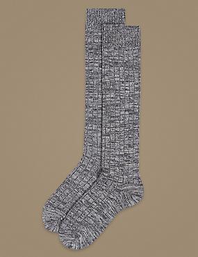 2 Pair Pack Thermal Knee High Socks