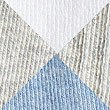 5 Pair Pack Cotton Rich Trainer Liner Socks, LIGHT BLUE MIX, swatch