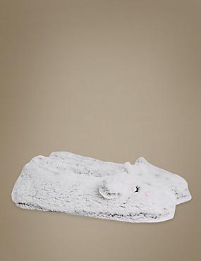 Fleece Ballet Slipper Socks