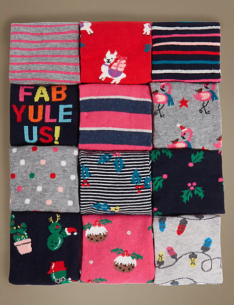 12 Days of Christmas Socks