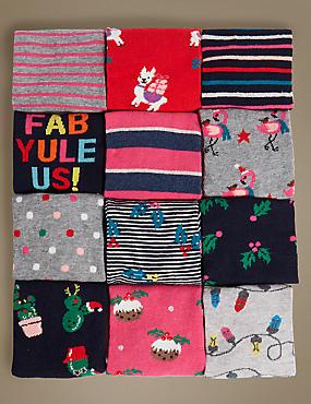 12 Days of Christmas Socks