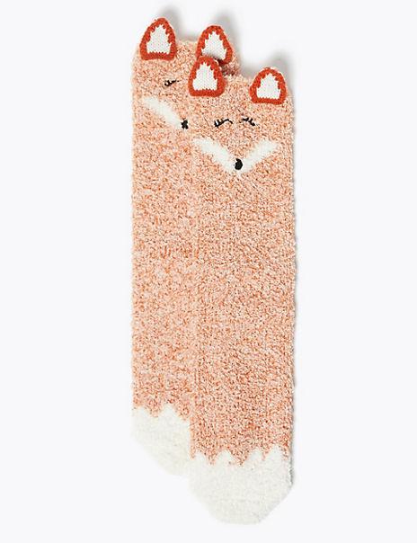 Cosy Fox Socks In A Box