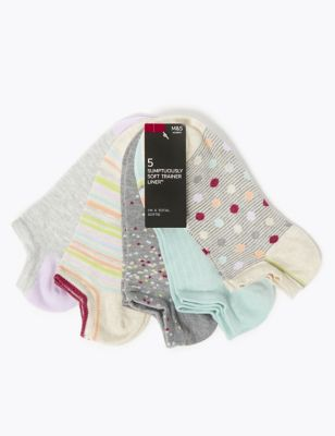 5 Pack Sumptuously Soft™ Trainer Liners