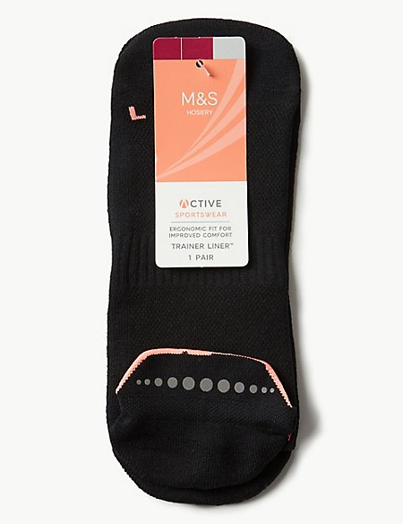 1 Pair of Trainer Liner™ Socks