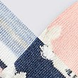 5 Pair Pack Bunny Ankle High Socks, DENIM MIX, swatch