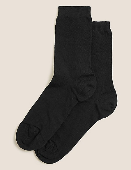 2 Pair Pack Blister Resist Ankle High Socks