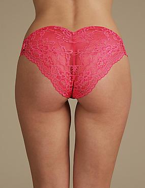 Louisa Lace High Leg Knickers