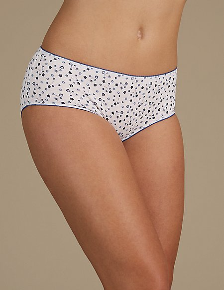7 Pack Cotton Rich Midi Knickers