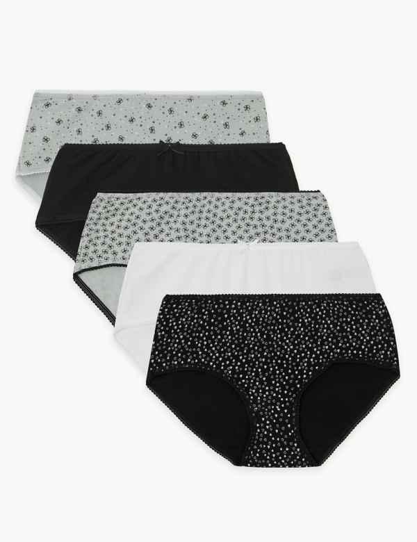 dc215b02ec7c Multipack Knickers | Multipack Thongs, Underwear & Briefs | M&S