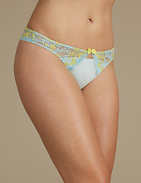 b811d1e3622 Yellow Polyester Mix Knickers | M&S