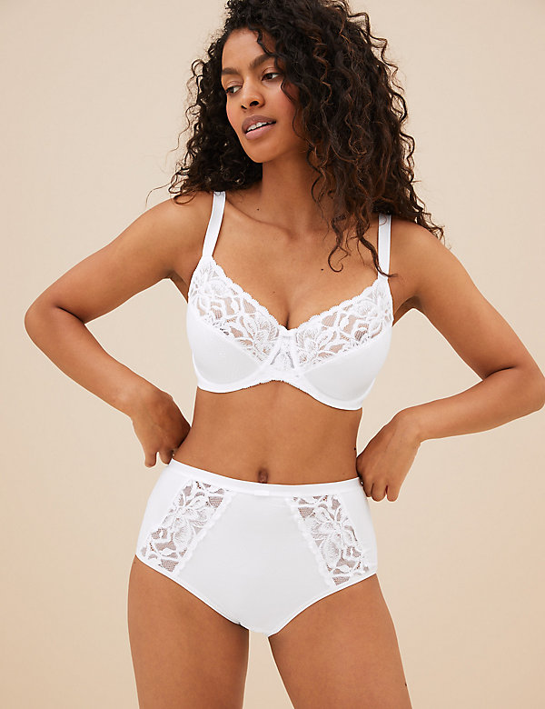 Wild Blooms Lace Full Briefs