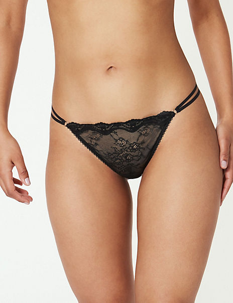 All Over Lace Thong