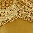 Lace Trim Brazilian Knickers , OCHRE, swatch