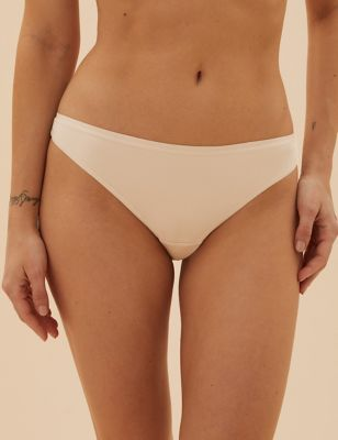 Brand 2 Pack Mae Womens Smooth and Corded Thong