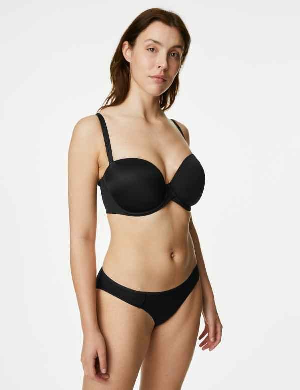 f3bdf1668 5 Pack Supima® Cotton Blend No VPL Bikini Knickers