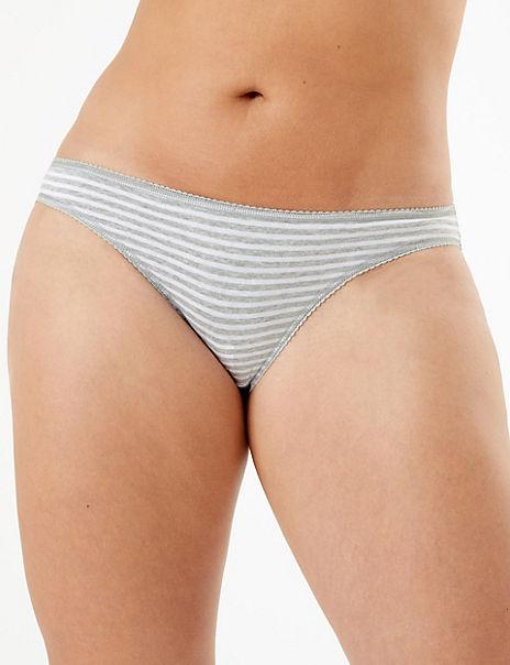 5 Pack Polar Bear Design Bikini Knickers